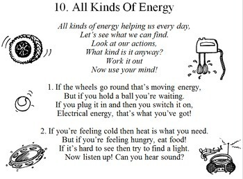 """All Kinds Of Energy"" - song about energy and the environment"