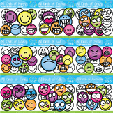 All Kinds of Faces Clipart Bundle