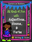 All Kinds of Fun with Adjectives, Nouns, and Verbs