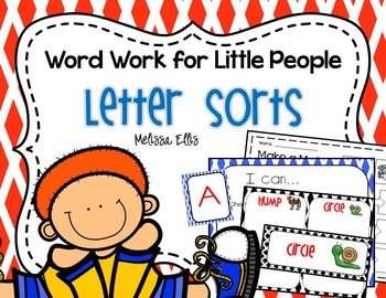 Letter Sorting: Word Work for Little People