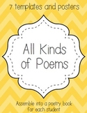 All Kinds of Poems {Haiku, Cinquain, Free Verse, Acrostic,