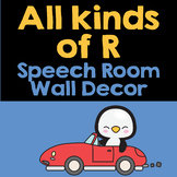 All Kinds of R | Speech Therapy Wall Decor | Speech-Language Therapy