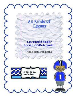 All Kinds of Teams Leveled Reader