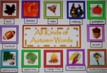 """""""Writing Words"""" Resource-Lists & Label Words for Many Themes"""