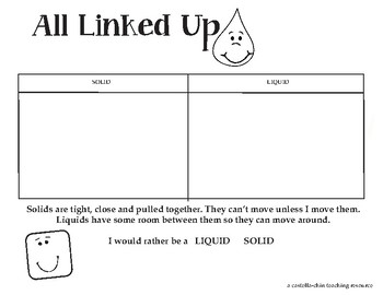 All Linked Up Lesson & Activity
