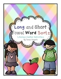 All Long and Short Vowel Word Sorts  Literacy Centers