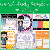 Bundle of Words Their Way Activities for Sorts