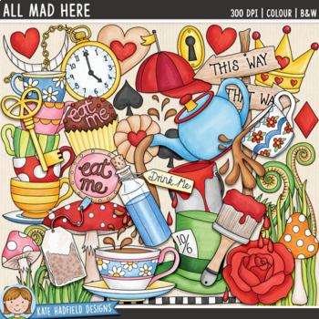 Wonderland Clip Art