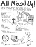 All Mixed Up Drawing Project - Rainy Day Activity, Great For Camp