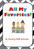 All My Favorites! Getting to Know You Cootie Catcher (Fortune Teller) Icebreaker