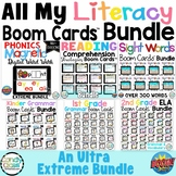 All My Literacy Boom Cards Distance Learning Digital Task