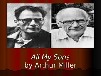 All My Sons Introduction PowerPoint