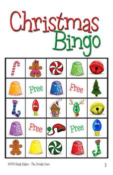 Christmas or Holiday Bingo