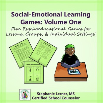 Social-Emotional Learning Games: Volume One