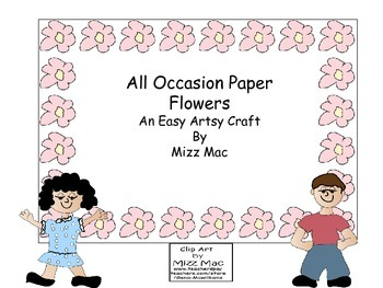 All Occasion Paper Coffee Filter Flowers