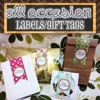 All Occasion Tags/Labels/Stickers