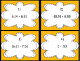 All Operations Decimal Task Cards