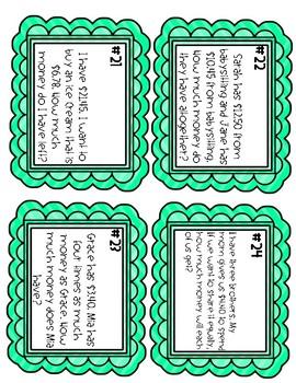 All Operations Decimals Task Cards