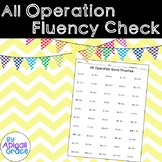 All Operations Fluency Checks