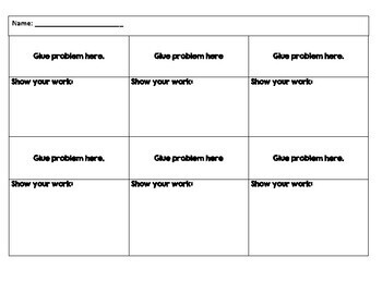 Fraction Activity - All Operations