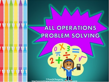 All Operations Problem solving