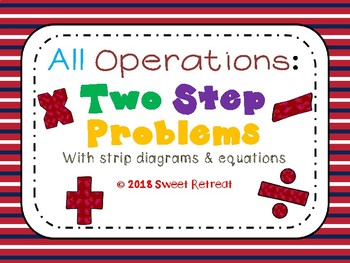All Operations- Two Step Problems