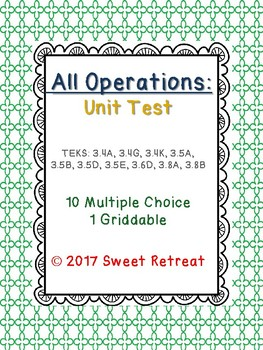 All Operations Unit Test