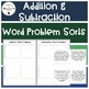 All Operations Word Problem Sorts