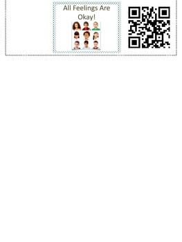 All Our Feelings Are Okay! (QR Code for video of narrated story)