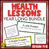 Health Lessons and Activities   Full Year Bundle Grade 4-6