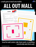 All-Out Mall:  A game about rectangle arrays and area