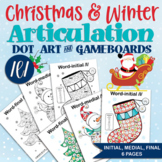 All Positions /l/ Words Dot Paint Pages & Chipper Chat Gameboards