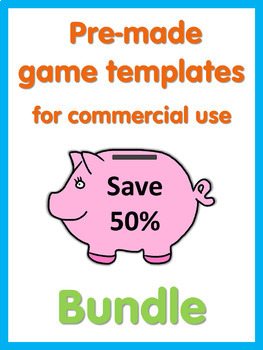 All PowerPoint Game Templates in my store  Bundle