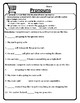 All Pronouns Worksheet Pronouns Practice Pronouns Activities