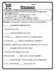 All Pronouns Worksheet Pronouns Practice Pronouns Activities
