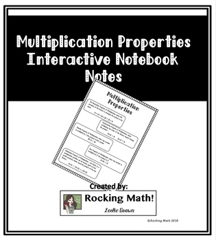 All Properties Interactive Notebook Notes