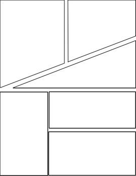 All-Purpose Comic Templates - Set 2