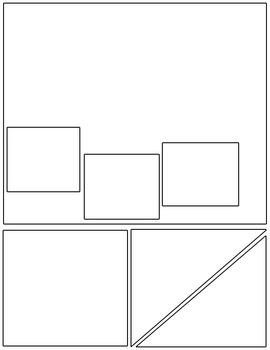 All-Purpose Comic Templates - Set 3