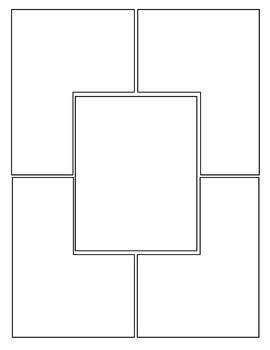 All-Purpose Comic Templates - Set 5