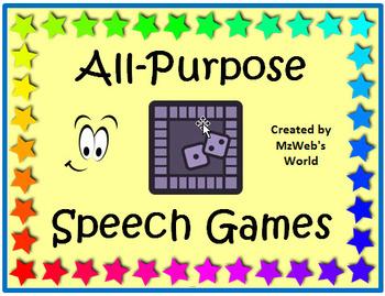 All Purpose Speech Games