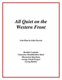 All Quiet on the Western Front Unit Plan