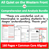 All Quiet on the Western Front – Comprehension and Analysis Bundle