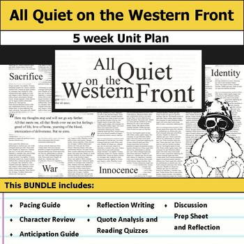 All Quiet on the Western Front Unit Bundle