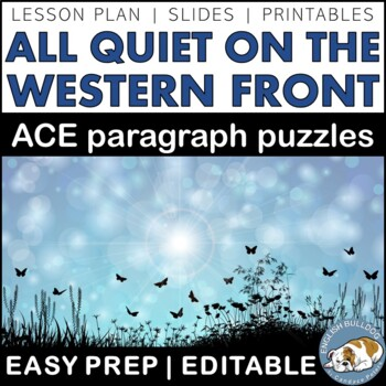 All Quiet on the Western Front ACE Paragraph Puzzles