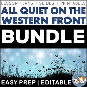 All Quiet on the Western Front Activity Bundle