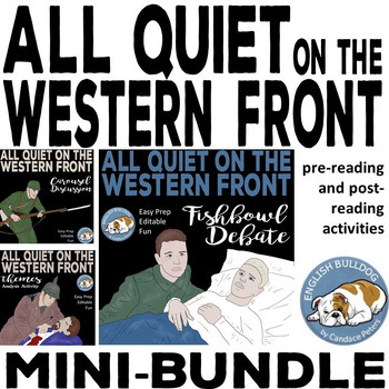 All Quiet on the Western Front Activity Mini Bundle