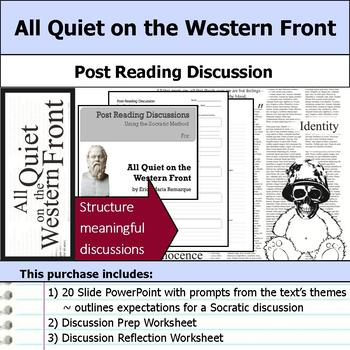 All Quiet on the Western Front - Socratic Method - Post Reading Discussions