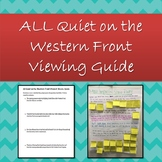 All Quiet on the Western Front Student Movie Guide & Refle