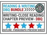 Reading & Writing Activities DBQ Document Based Question Bundle