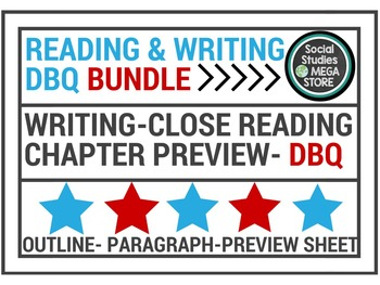 Reading & Writing & DBQ Bundle